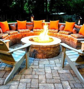 Outdoor Fire Pits-Nacodoches TX Professional Landscapers & Outdoor Living Designs-We offer Landscape Design, Outdoor Patios & Pergolas, Outdoor Living Spaces, Stonescapes, Residential & Commercial Landscaping, Irrigation Installation & Repairs, Drainage Systems, Landscape Lighting, Outdoor Living Spaces, Tree Service, Lawn Service, and more.